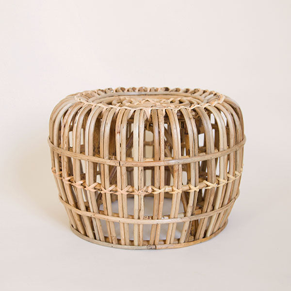 Aurora Rattan Table - Short - Pigment