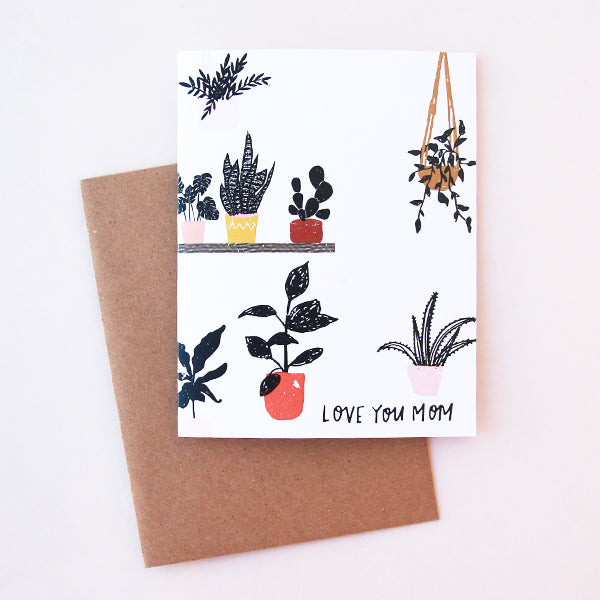 Plant Lady Mother's Day Card - Pigment