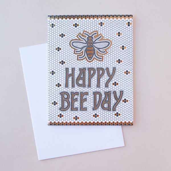 Bee Day Tile - Pigment
