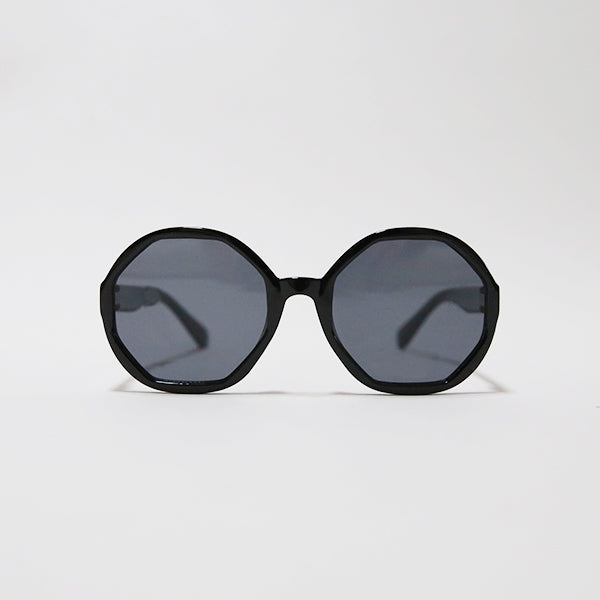 Kids Round Sunglasses - Black - Pigment