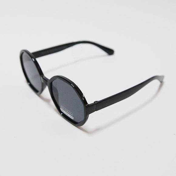 Kids Round Sunglasses - Black