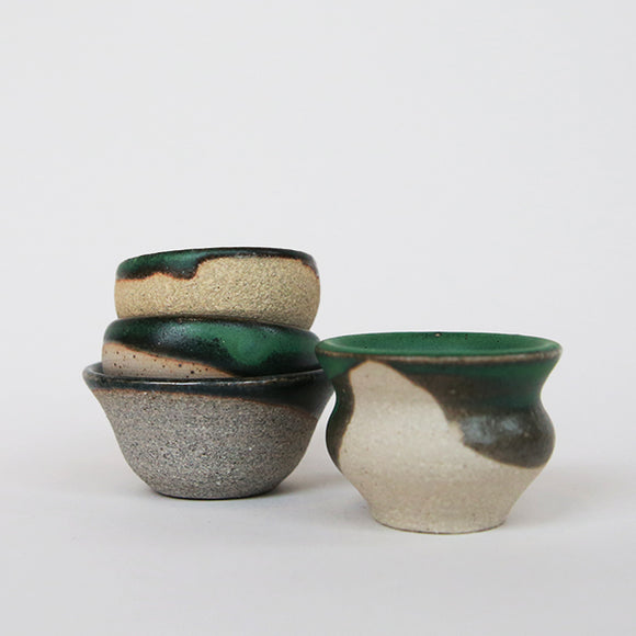 Web - Tiny Pots - Green - Pigment
