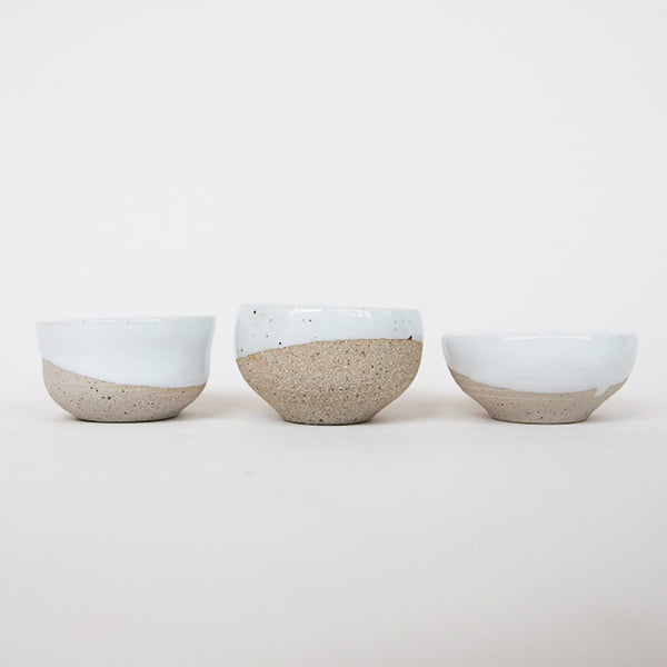 Web - Tiny Pots - Natural with White - Pigment