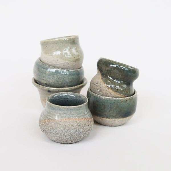 Web - Tiny Pots - Blue - Pigment