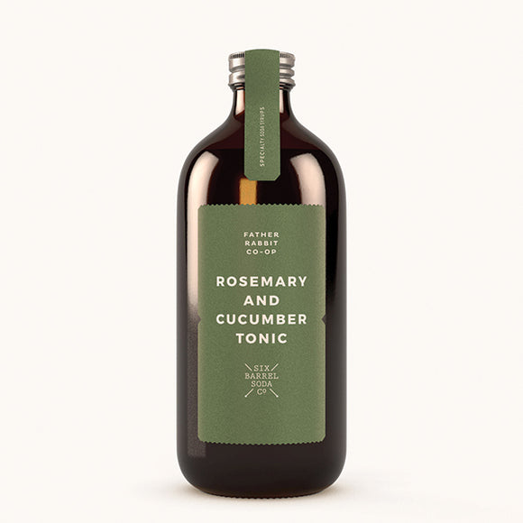 Rosemary Cucumber Tonic Syrup - Pigment