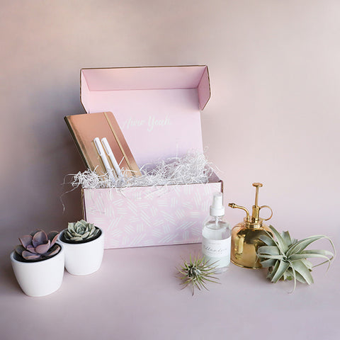 Plant Lady Gift Box - Gold