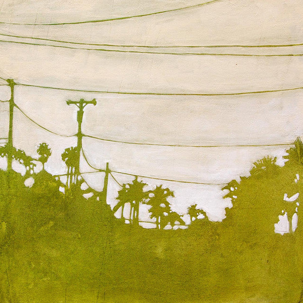 Amy Paul - Green City III - Pigment