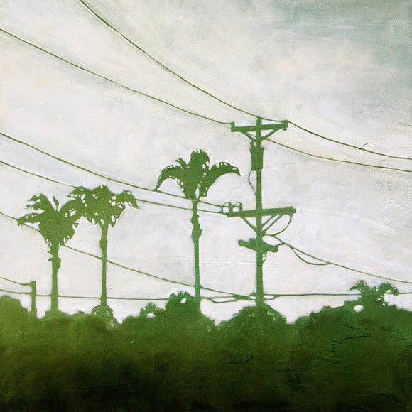 Amy Paul - Green City I - Pigment