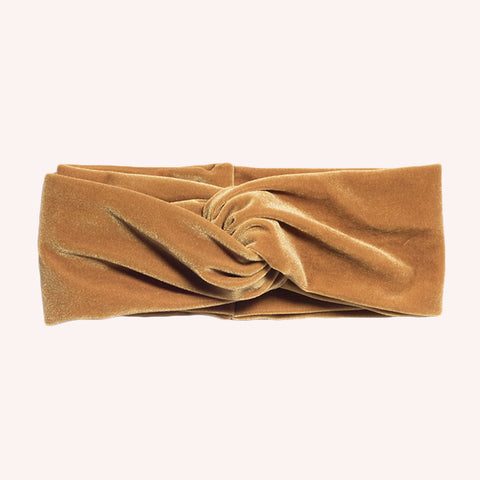 'Harvest Moon' TURBAN HEADBAND - Pigment