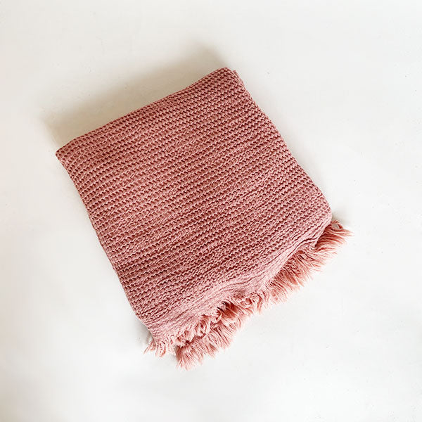 Ella Towel - Rose