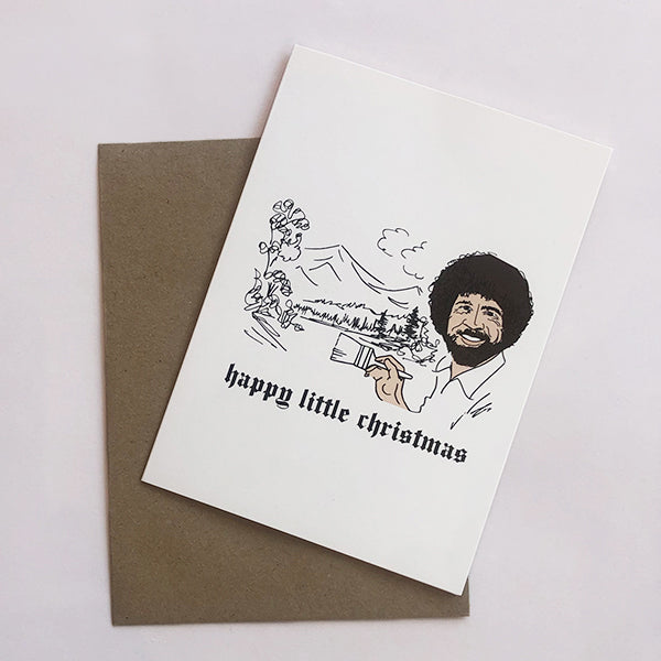 Bob Ross Happy Little Christmas - Pigment