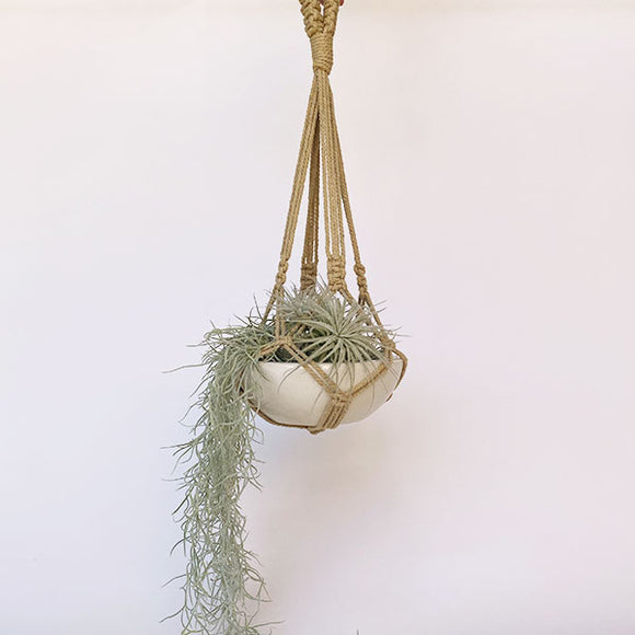 Earth Macrame Plant Hanger - 18 inches