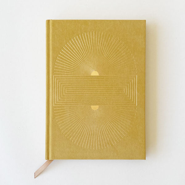 Radiant Suns Block Hardcover Journal