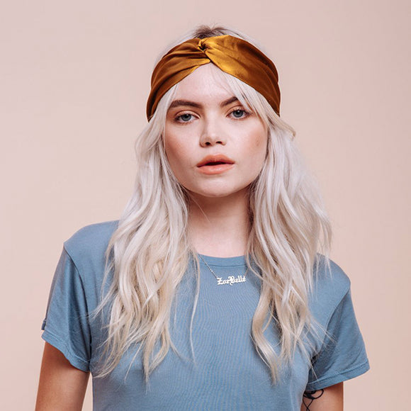 Golden Canyon Headwrap - Pigment