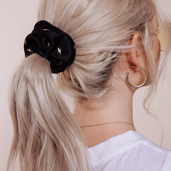 Thunders Black Scrunchie - Pigment
