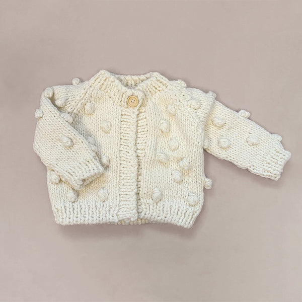 Popcorn Sweater - Cream - Pigment