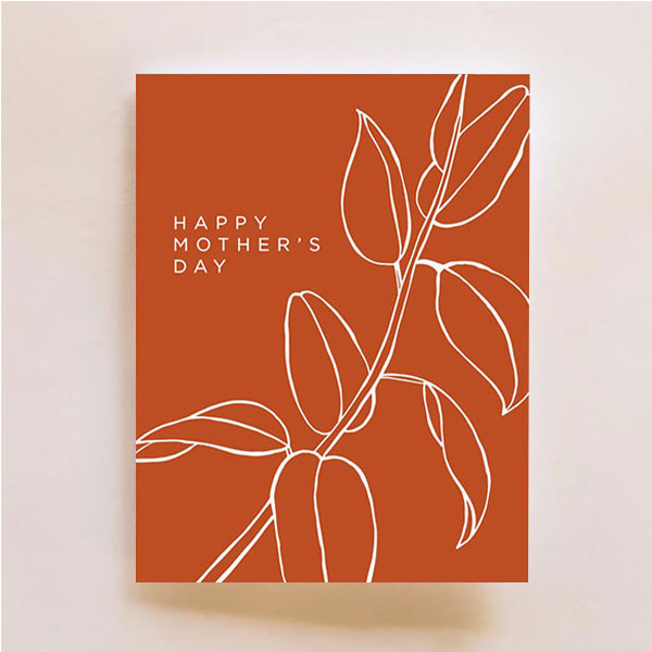 Mother's Day Warm Card