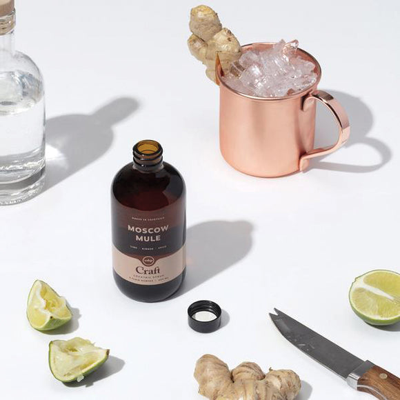 Moscow Mule Cocktail Syrup - W and P