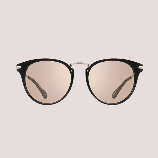 Norie Sunglasses - Black + Flash Electric