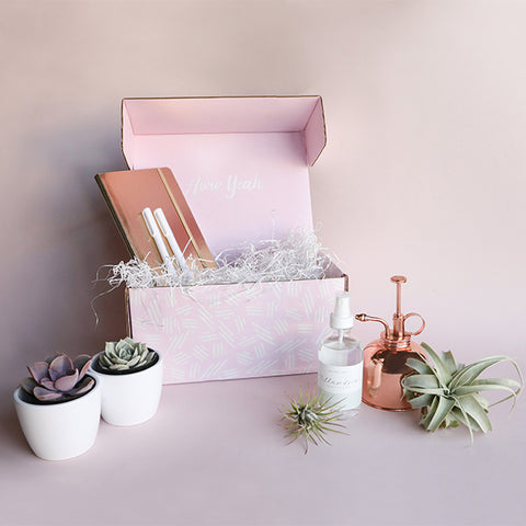 Plant Lady Gift Box - Rose Gold