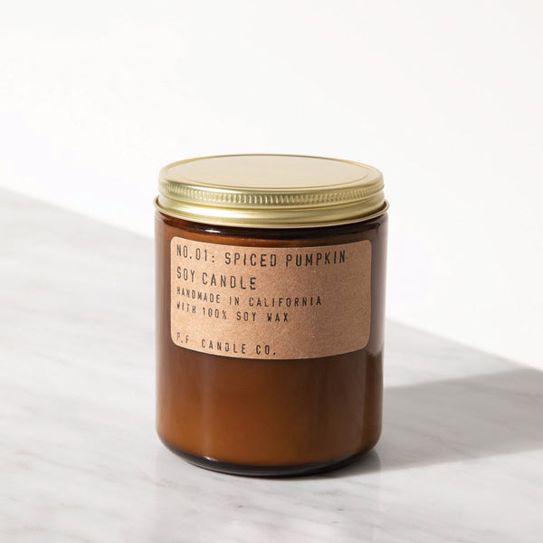 Spiced Pumpkin Soy Candle - Pigment