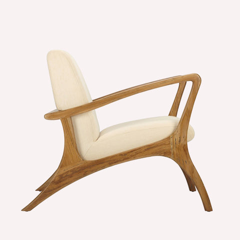 Soren Ventura Lounge Chair Teak - Grey Wash