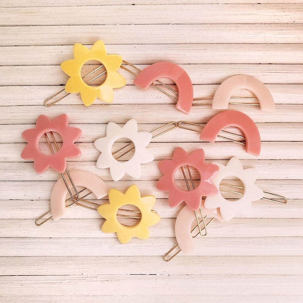 Suns Barrette - Off White - Pigment