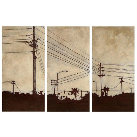 Amy Paul - West (Limited Edition), Cityscapes Collection