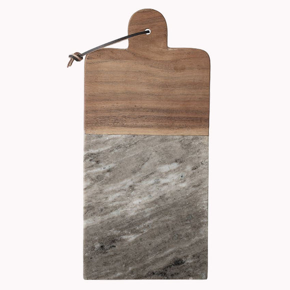 Marble & Acacia Wood Cutting Board