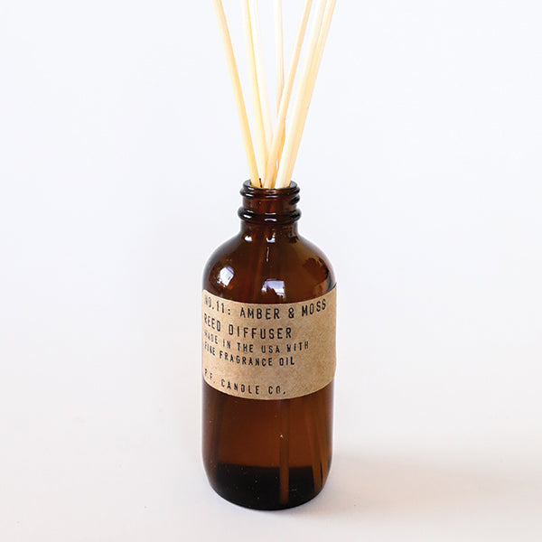 Amber & Moss Reed Diffuser - Pigment