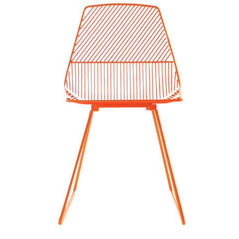 Bend Seating - Ethel Side Chair - Orange
