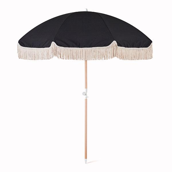 Black Rock Beach Umbrella - Pigment