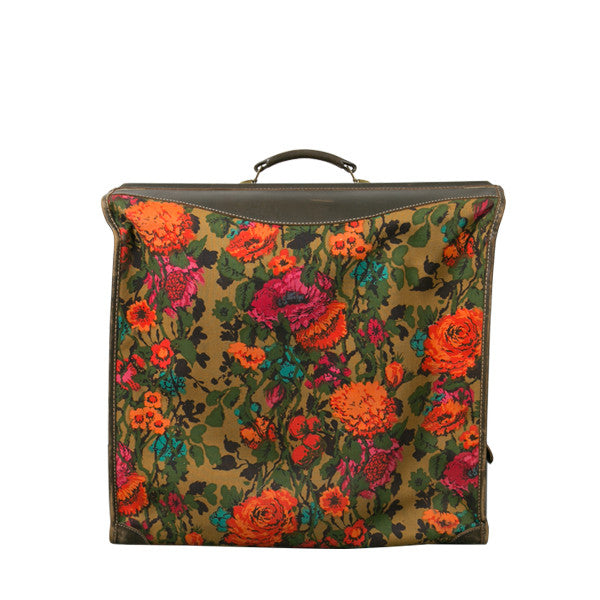 Vintage Electric Floral Garment Bag - Shop Pigment.
