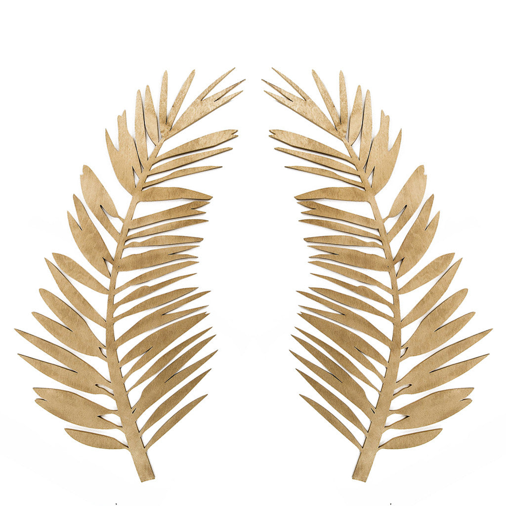 Curved Palm - Set of 2