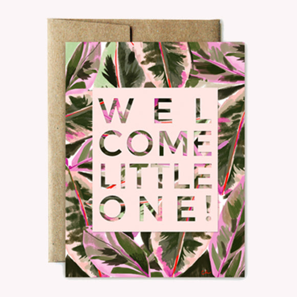 Lush Welcome Little One Card
