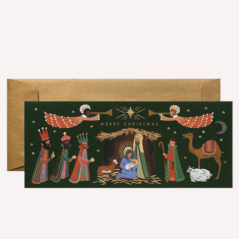 Holiday Nativity No. 10 Card