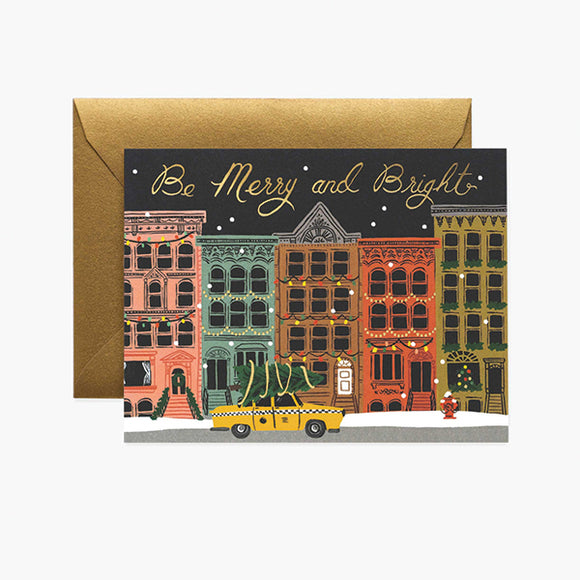City Holiday Card - Pigment