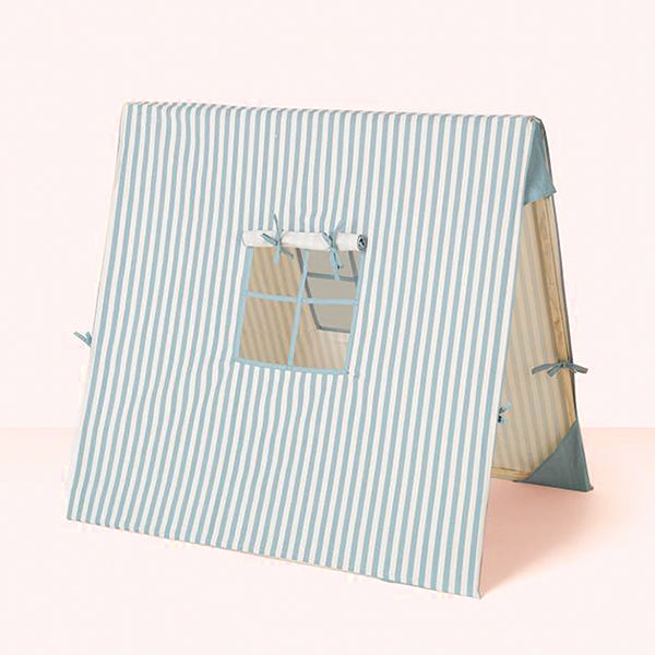 Blue Thin Striped Tent