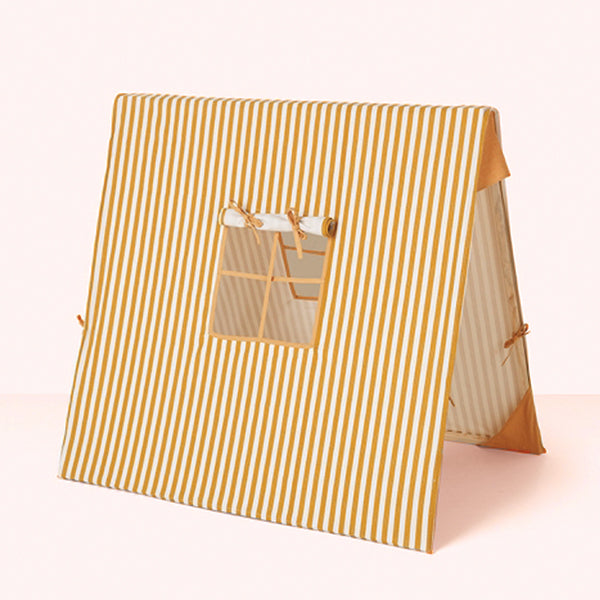 Mustard Thin Striped Tent