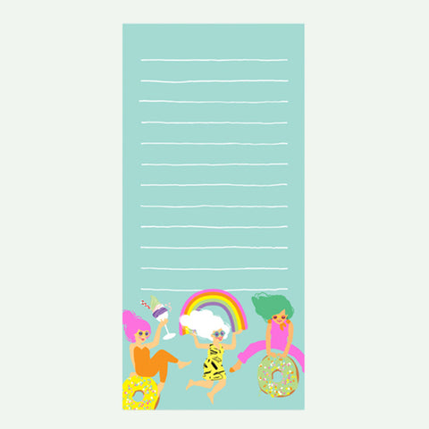 Fun Girls Magnetic List Pad