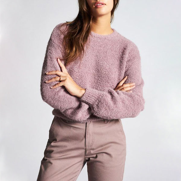 Maiden Sweater - Mauve - Pigment