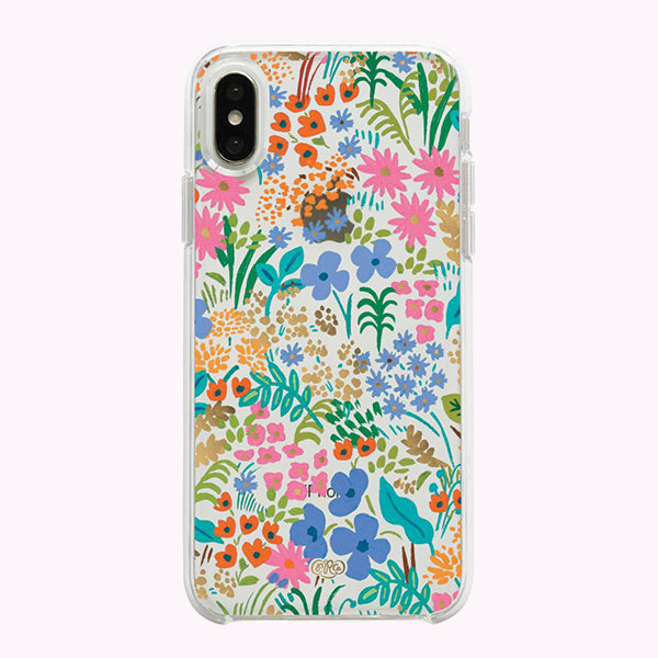 Clear Meadow iPhone XS Case