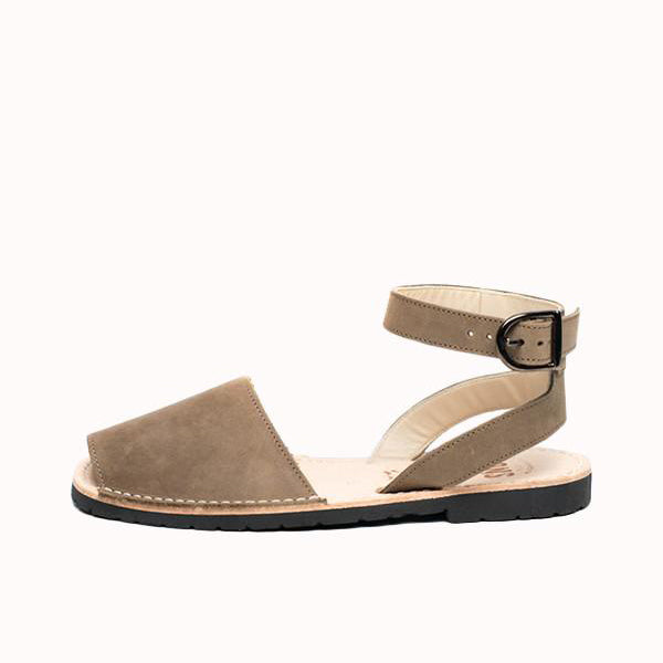 Women's Classic Strap Avarcas - Taupe
