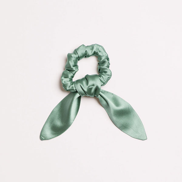 Sage Brush Scrunchie Tie - Pigment