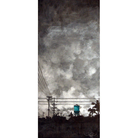 Amy Paul - Silver Skies, Cityscapes Collection