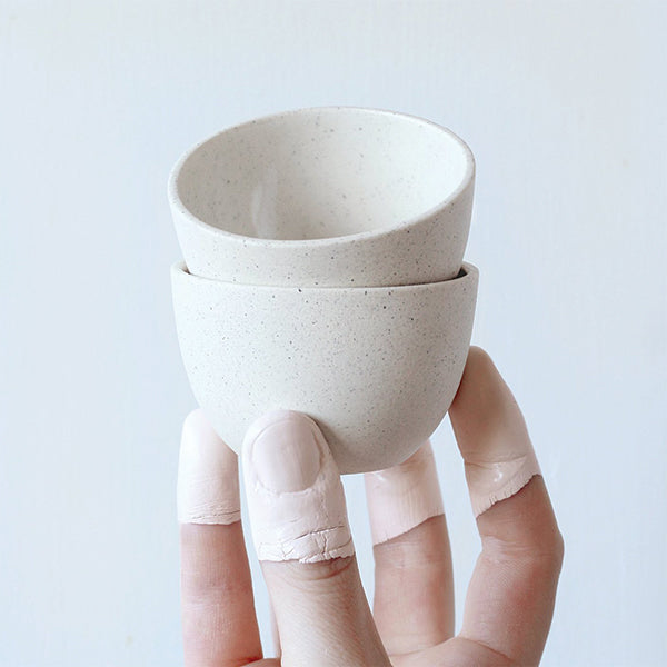 Stacking Thimble Cup - Speckle