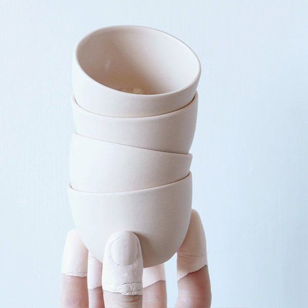 Stacking Thimble Cup - Blush