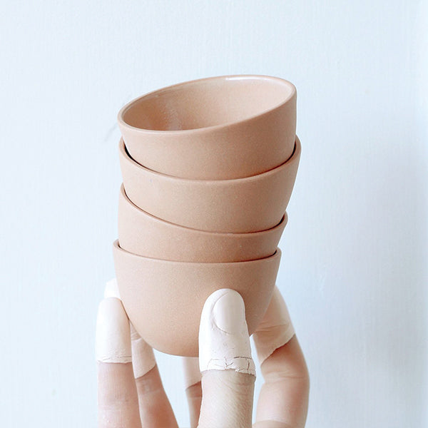 Stacking Thimble Cup - Terracotta