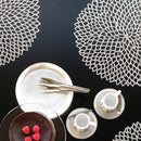 Chilewich Dahlia Round Placemat - Pigment
