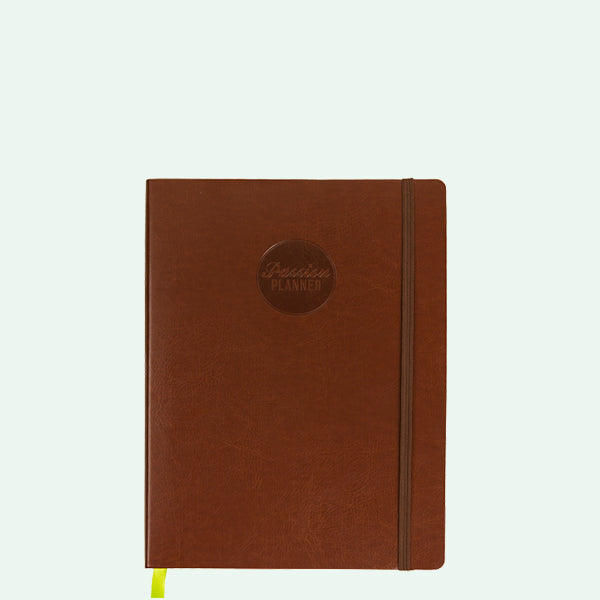 Brown Passion Planner - Compact